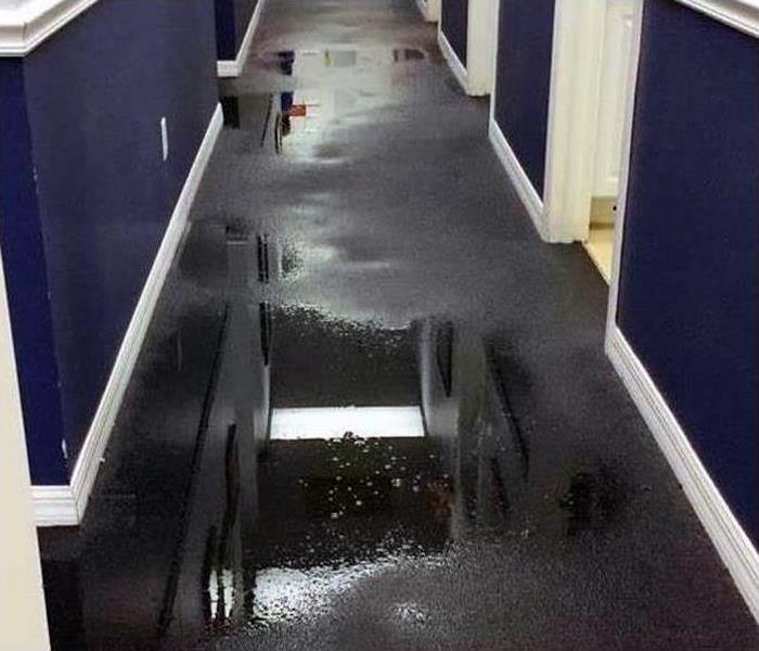 Commercial Water Damage Restoration In Boynton Beach Before